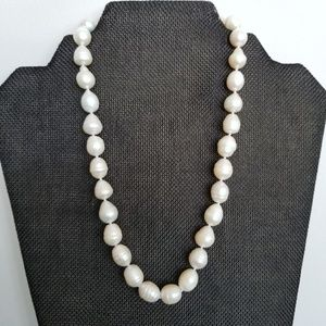 Jewelry - REAL 12mm Baroque Pearl Necklace